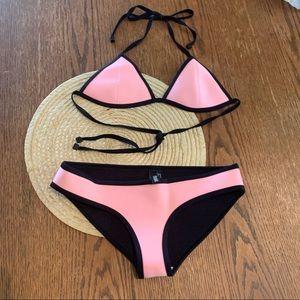 Triangl Breathable Neoprene Bikini Swimwear Set